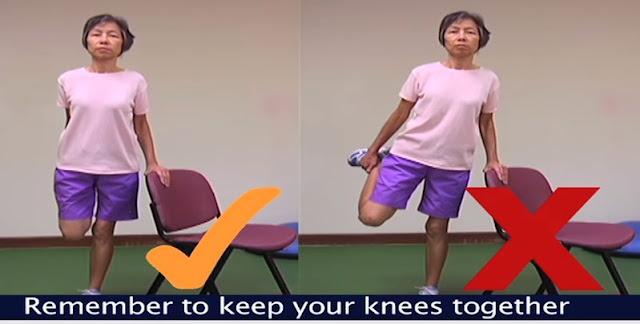 Quadricep exercise