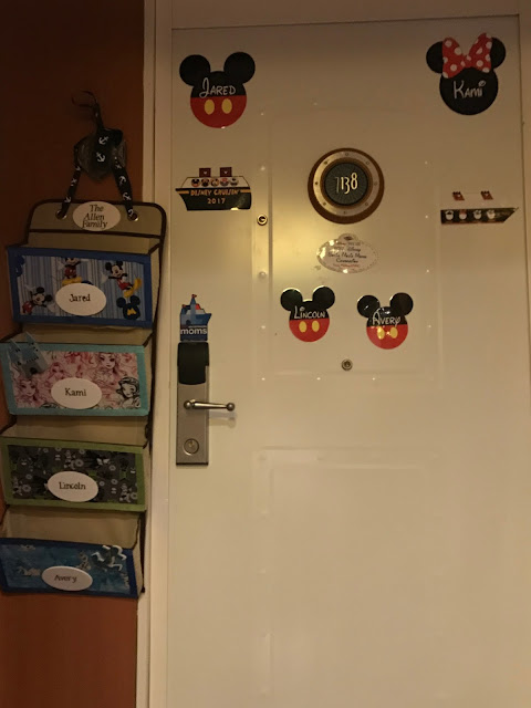 Disney Cruise Line Door Magnets and Fish Extender