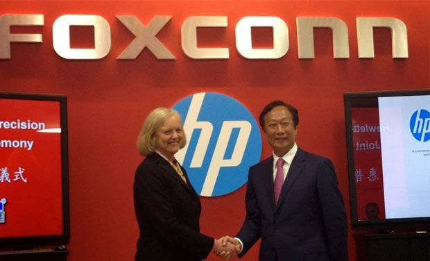 HP and Foxconn, Foxconn,  HP ,  HP partners with Foxconn, produce cheap cloud servers, cheap cloud servers, cloud servers, CPU ARM , GigoOM,