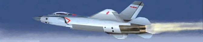 First Sighting of New Stealth Fighter For Chinese Navy's Aircraft Carriers