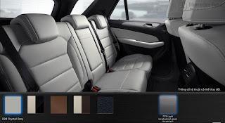 Nội thất Mercedes GLE 400 4MATIC 2017 màu Xám Crystal (228)