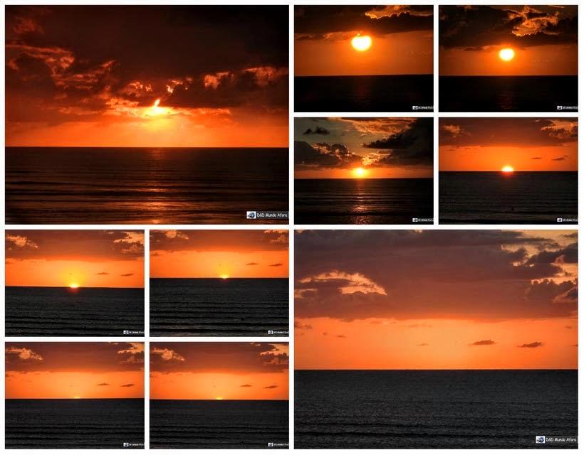 Diário de Bordo - Pôr do Sol em Jericoacoara - Ceará