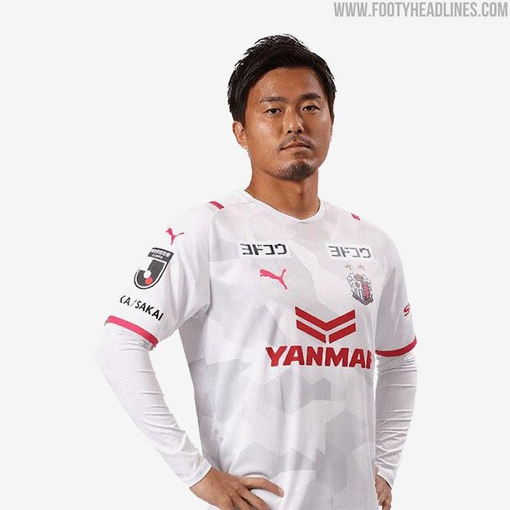 Cerezo Osaka 2021 Home, Away & Goalkeeper Kits Released - Footy ...