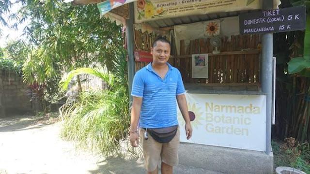 Pemilik Botanic Garden Narmada Lombok Barat