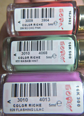 L'Oreal Color Riche Nail Polish
