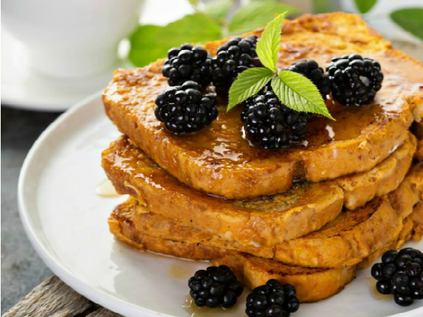 FEATURED PHOTO Easy Pumpkin French Toast Recipe from The Everyday Home Blog