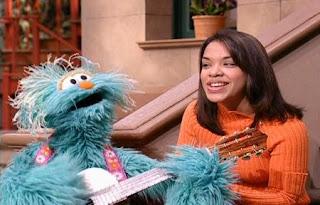 Rosita and Gabi sing Tu Me Gustas. Sesame Street Best of Friends