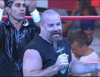 WCW New Blood Rising 2000 - Tank Abbott dances with Three Count