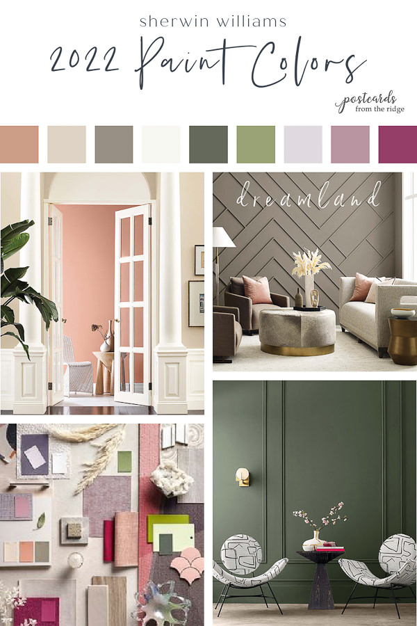 2022 sherwin williams paint colors