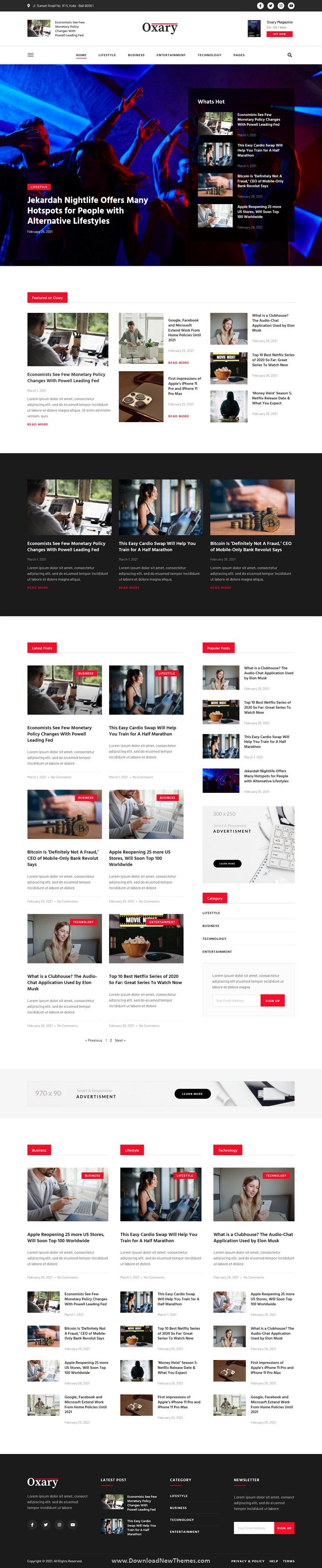 News & Magazine Elementor Template Kit