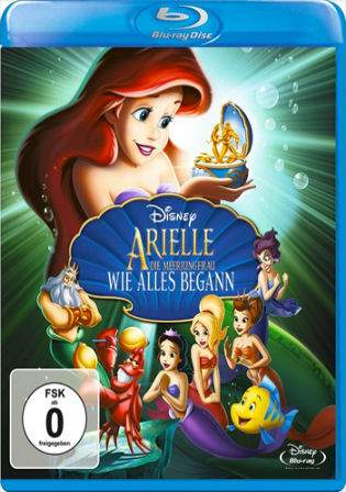 The Little Mermaid Ariels Beginning 2008 BluRay Hindi 250MB Dual Audio 480p Watch Online Full Movie Download bolly4u