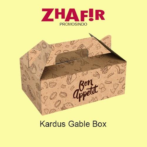 Cetak Kardus Gable Box