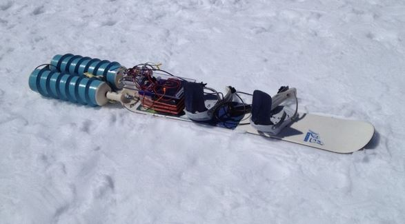 Wackyboards Electric Snowboard