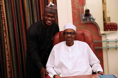 , Governor Bello poses with President Buhari (Photos), Latest Nigeria News, Daily Devotionals & Celebrity Gossips - Chidispalace