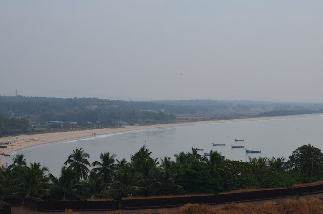 View of Bekal Fort Beach