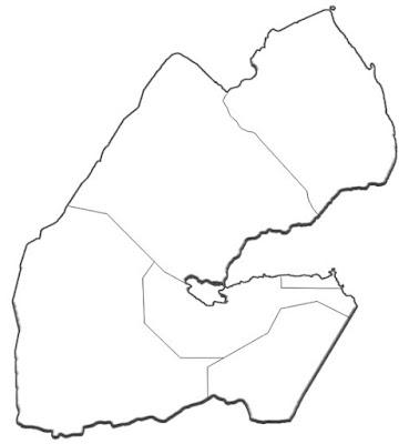 image: Djibouti blank white Map