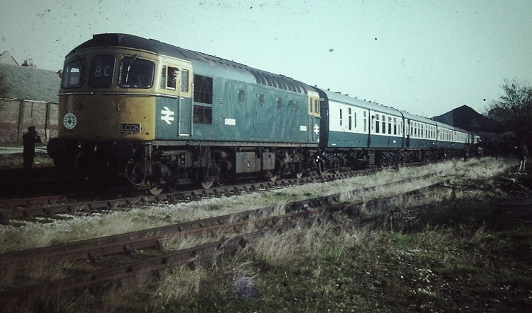Hampshire Rose Railtour 1969