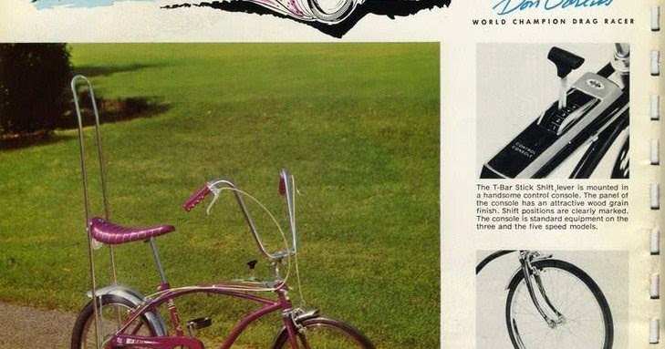 Just A Car Guy: Hard to believe that Huffy got Dan Garlits to