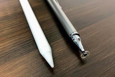 KINGONEペンと100均タッチペンのペン先