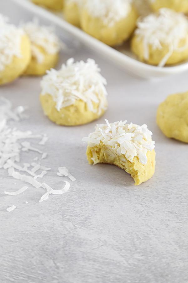 Lemongrass Snowball Cookies