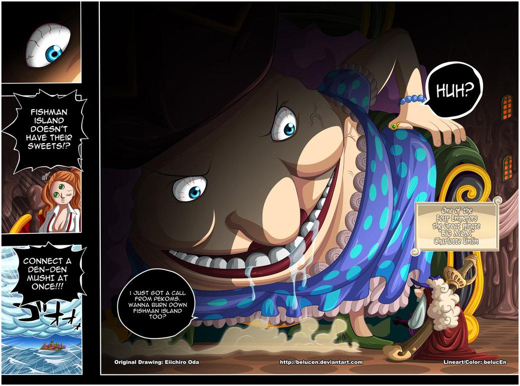 "Devil's Bat's: Charlotte Linlin ""Big Mom One Piece"""