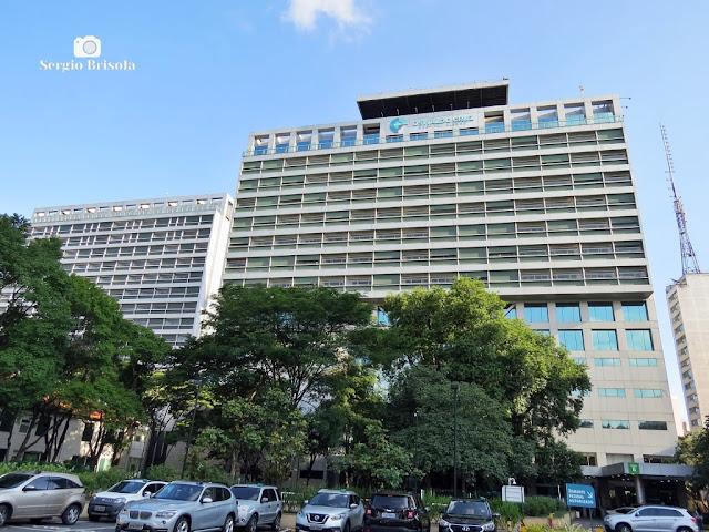 Vista ampla da Torre B do Hospital Alemão Oswaldo Cruz - Bela Vista - São Paulo