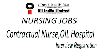 Contract basis staff nurse vacancy