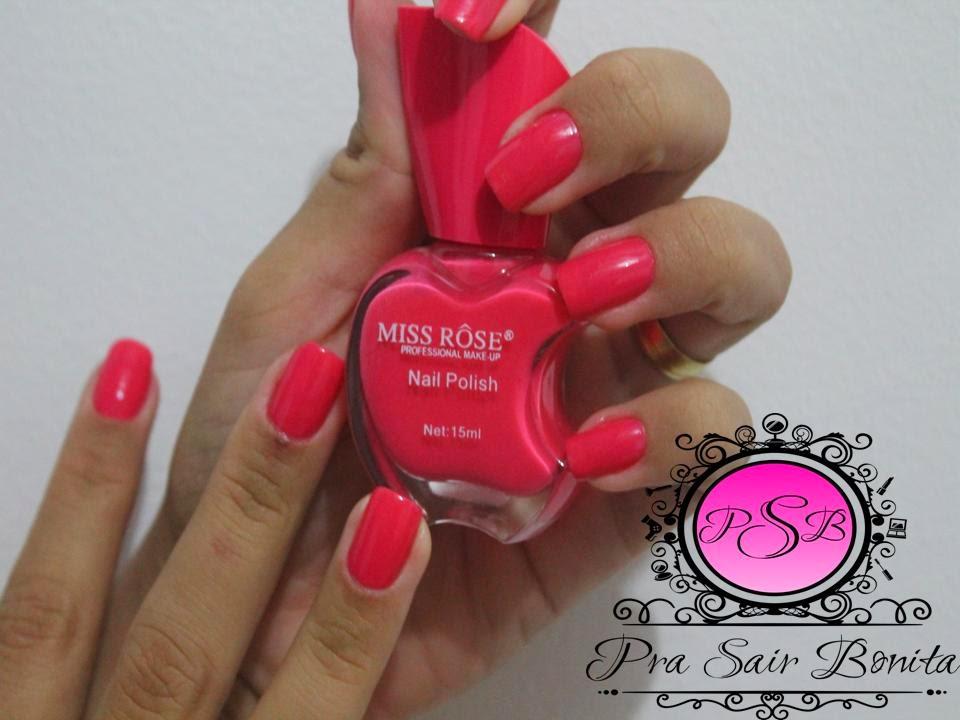 nail polish miss rose