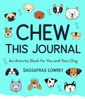 Interview with Sassafras Lowrey about Chew This Journal. Photo shows the book cover.
