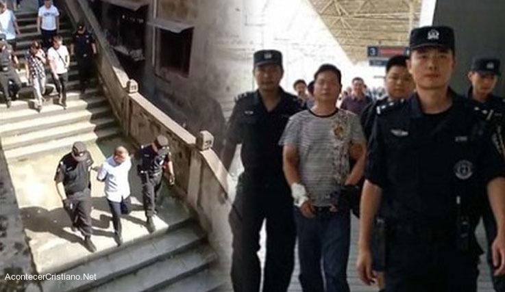 Policías chinos arrestan cristianos por reunirse en iglesia