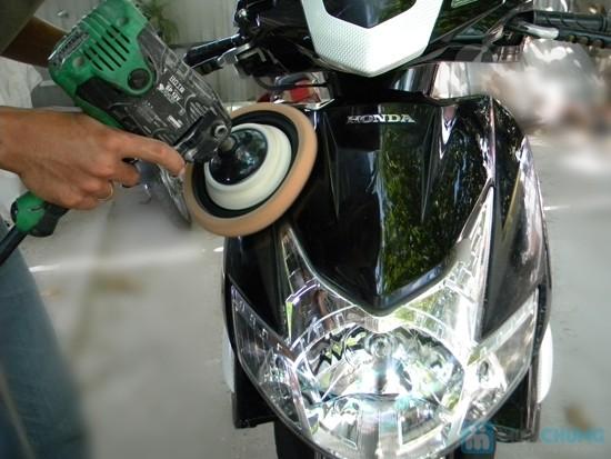 Đánh bóng xe máy tận nhà tại Tphcm