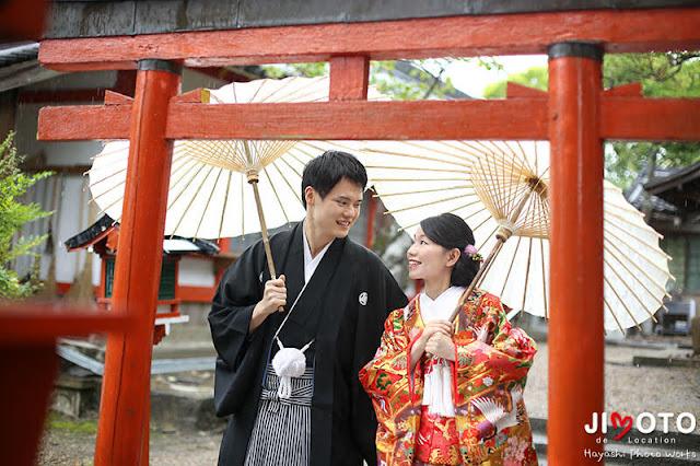奈良で前撮り撮影
