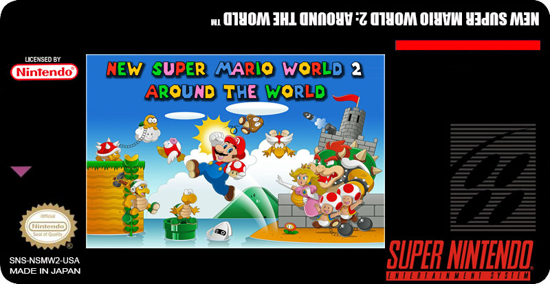 New Super Mario World 2: Around The World, Super Nintendo para