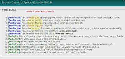 CARA SINKRONISASI DAPODIK 2020b LENGKAP