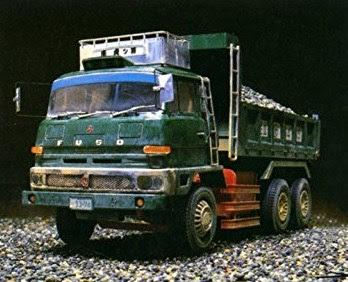 truk fuso tua miniatur