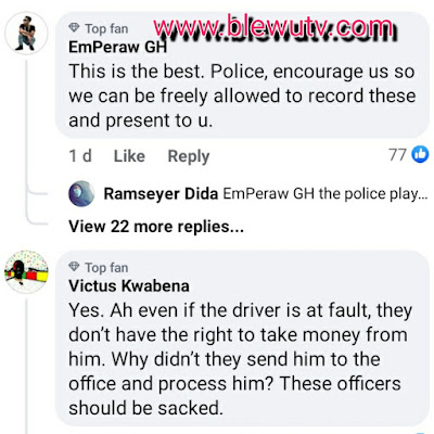 Police Momo Bribe Reactions