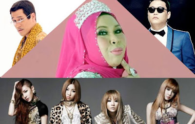 Mahu Saingi PSY, Benarkah Pikotaro & 2NE1 Inspirasi I AM ME Dato Seri Vida?