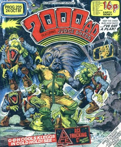 2000 AD 235, Ace Trucking