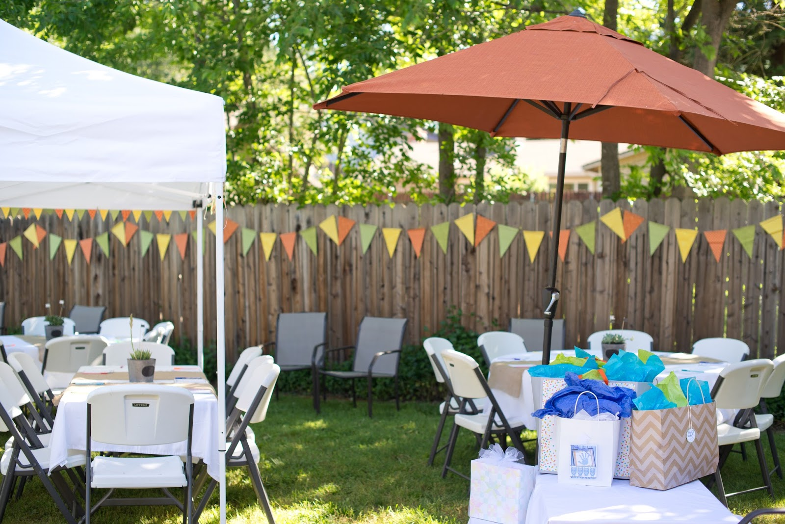 domestic fashionista my rustic backyard baby shower
