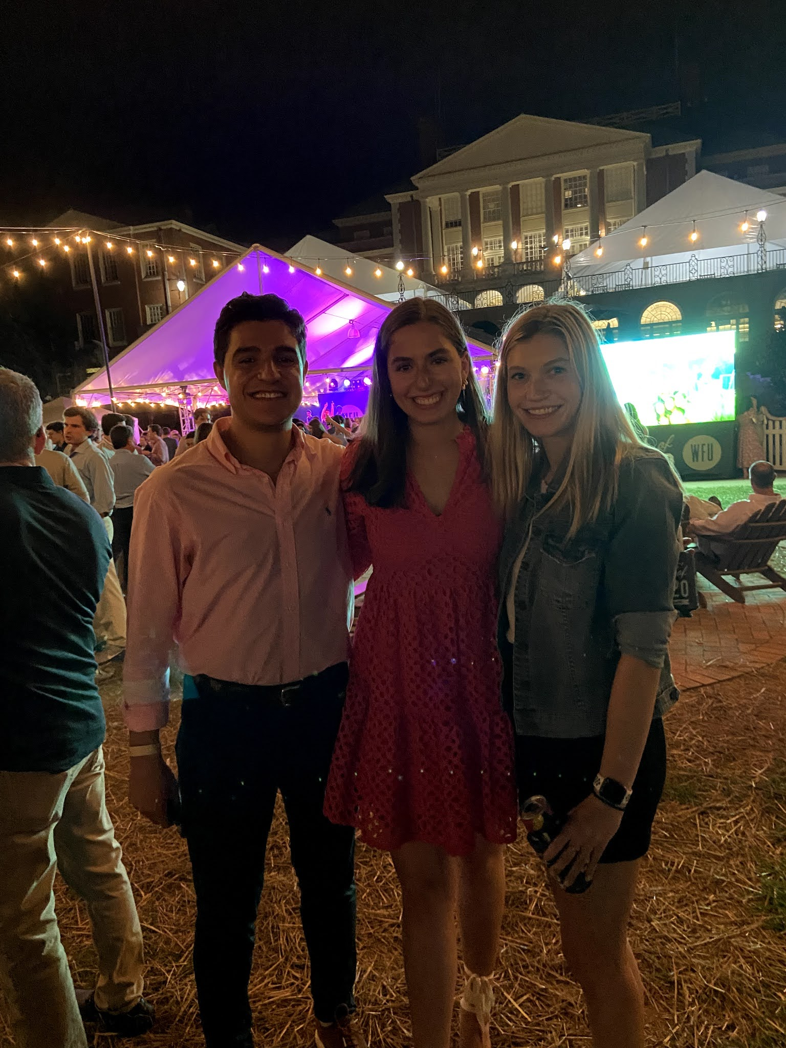 wake forest, lower quad, party, welcome back to wake, class of 2020, wake forest graduation