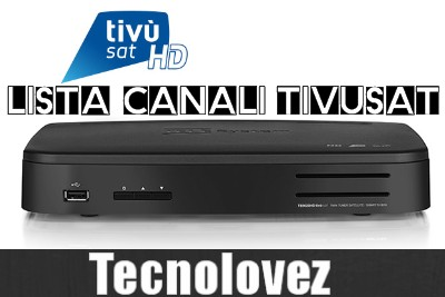 Elenco canali Tivùsat - Lista e Numerazione Canali Tivùsat