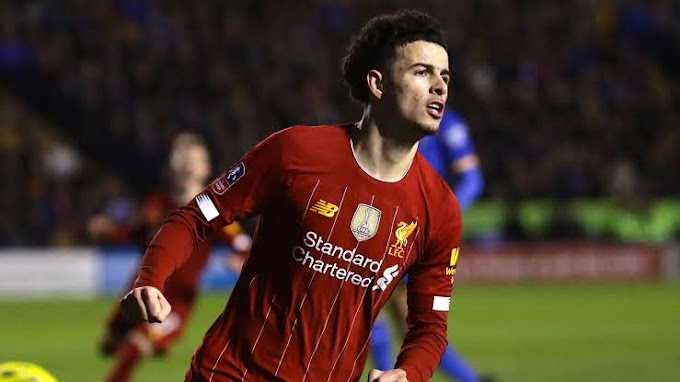 Liverpool young star Curtis Jones wins Premier League 2 Player of the Season award