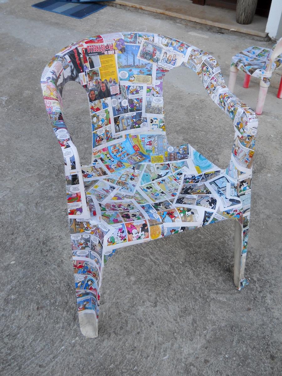 Rinnovare Sedie In Plastica.Dipingere Sedie Di Plastica Sedia Polipropilene Colorato Con