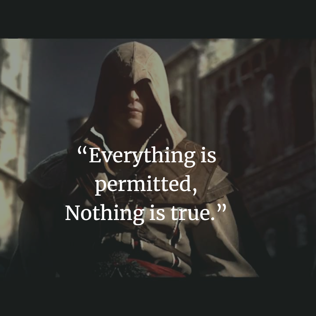 Assassin Creed Inspiring Image Quotes From The Book And The Game