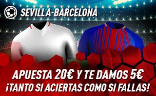 sportium Promo Sevilla vs Barcelona 23 febrero