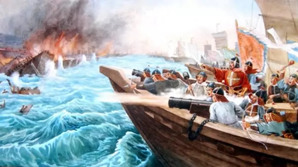 Painting: Jinpho Naval Battle
