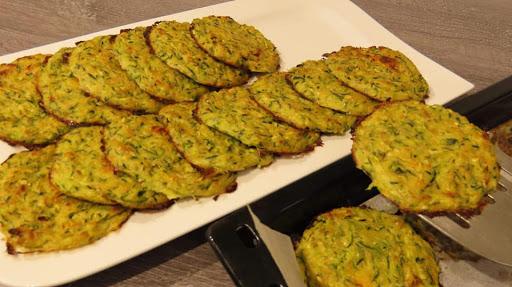 Sočne Polpete od Tikvica iz Pećnice / Perfect Oven-Baked Zucchini Fritters