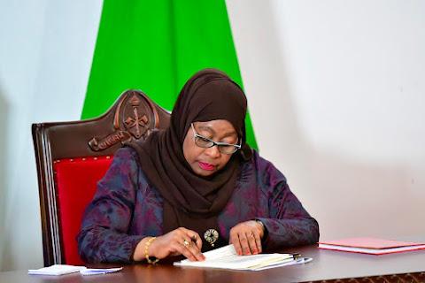 Rais Samia Suluhu afanya uteuzi wa Viongozi wawili