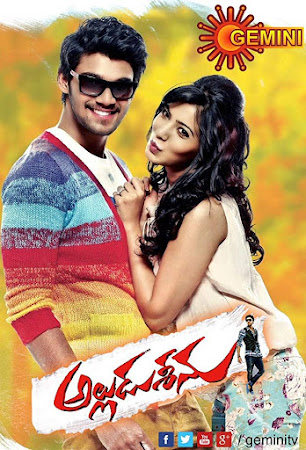 Poster Of Alludu Seenu In Dual Audio Hindi Telugu 300MB Compressed Small Size Pc Movie Free Download Only At worldfree4u.com