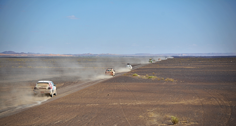 Despertant el silenci del desert